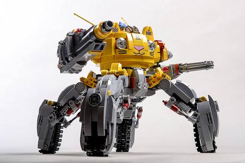 Lego Mech Tank
