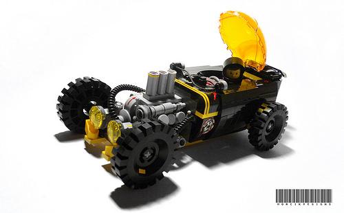 Lego Blacktron Hot Rod