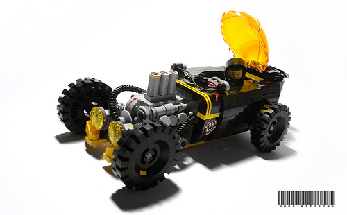 Lego Blacktron Hot Rod