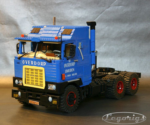 Lego Mack F700 Truck