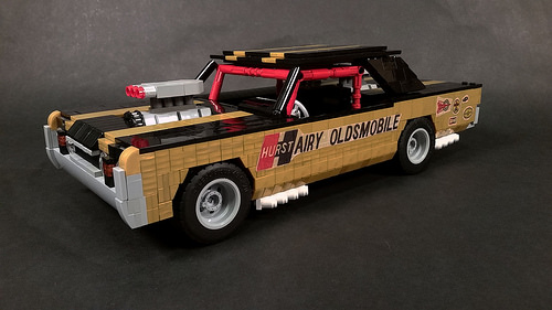 "Lego 67 Hurst ""Hairy"" Oldsmobile"