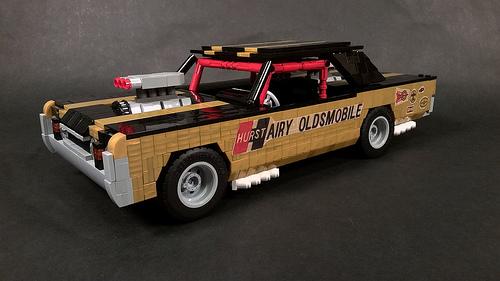 "Lego 67 Hurst ""Hairy"" Oldsmobile"