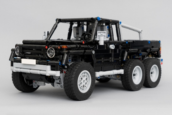 lego mercedes benz g wagon 6 6 the lego car blog. Black Bedroom Furniture Sets. Home Design Ideas