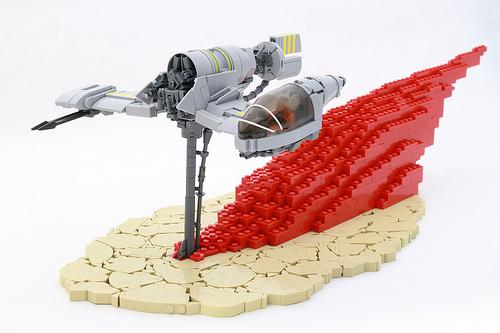 Lego The Last Jedi Star Wars Skimmer