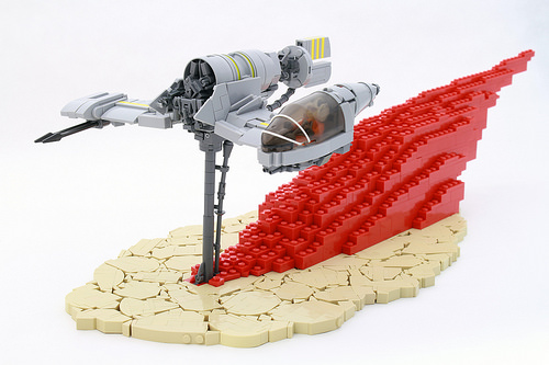Lego The Last Jedi Star Wars Skimmer