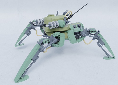 Lego Tesla Mech