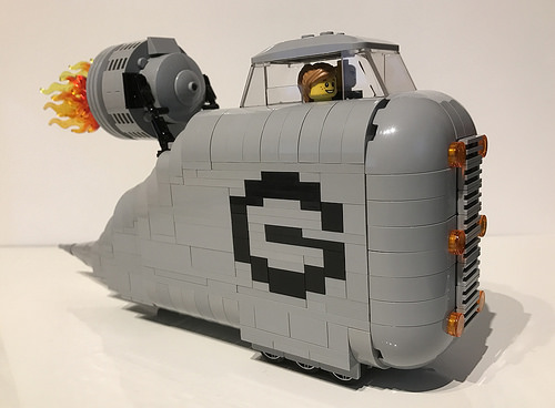 Lego Despicable Me Gru Car