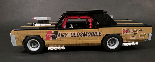 Lego Oldsmobile Cutlass Hairy Hurst