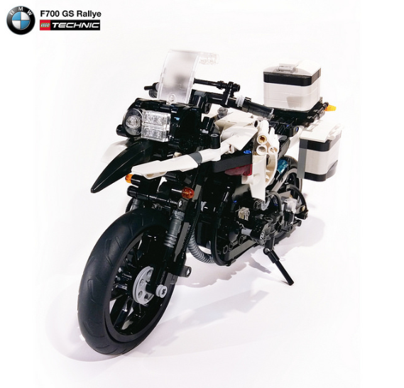 lego bmw f700 gs rallye the lego car blog. Black Bedroom Furniture Sets. Home Design Ideas