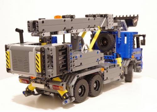Lego Technic Tatra Truck Excavator