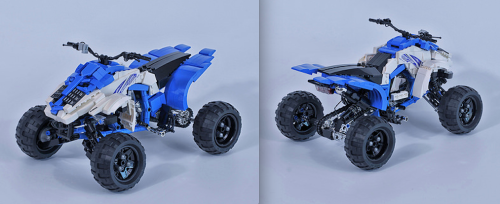 Lego Yamaha YFM 700 Quad Bike