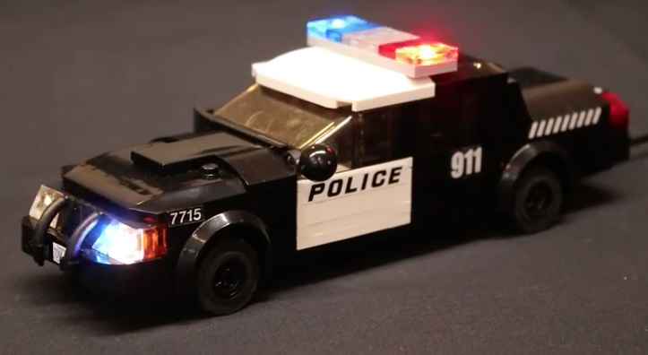 How To Build A Black Lego Police Car