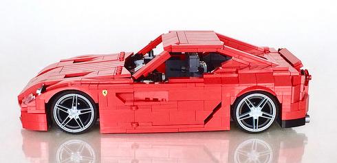 Lego Ferrari 599 GTB