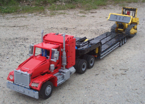 Lego Technic Truck Trailer RC