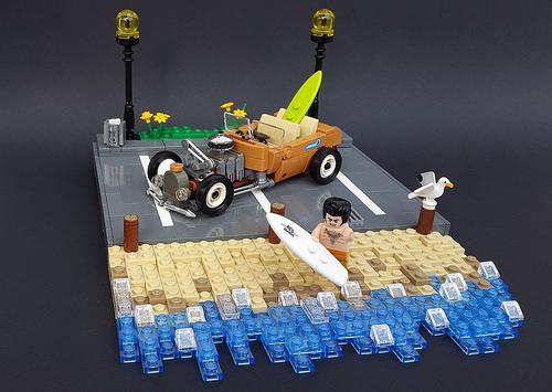 Lego Surfer Hot Rod