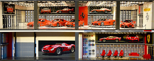 Lego Ferrari Dealership