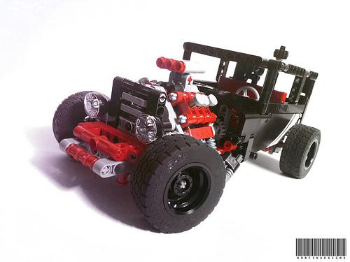 Lego Technic Hot Rod