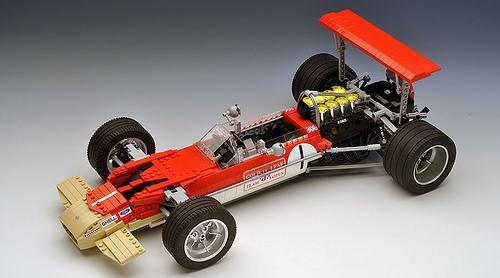 Lego Lotus 49B