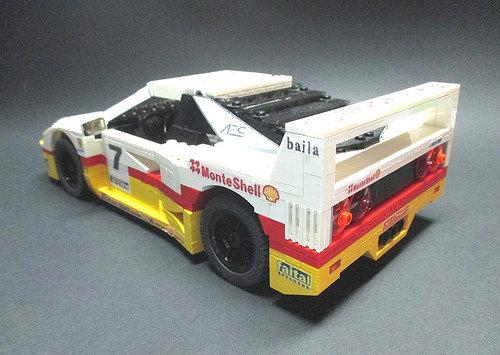 Lego Ferrari F40 GT Shell