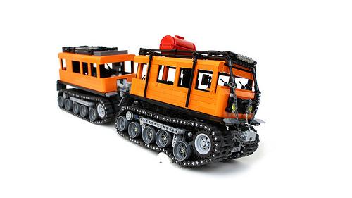 Lego Technic RC GAZ 3351 Sariel
