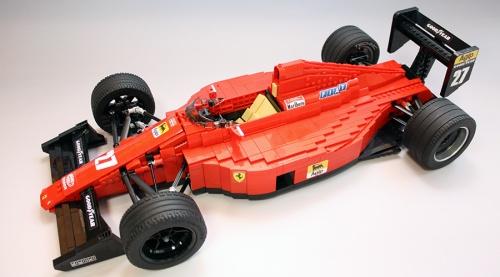 Lego Ferrari F189 RoscoPC