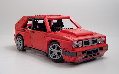 Lego Lancia Delta