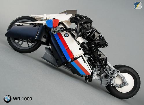 lego technic bmw wr 1000 e bike the lego car blog. Black Bedroom Furniture Sets. Home Design Ideas