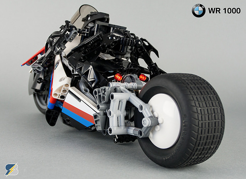 Lego Technic BMW WR 1000 e-Bike