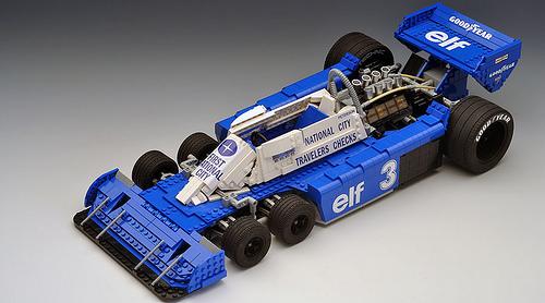 Lego Tyrrell P34
