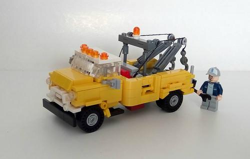 Lego 1956 GMC F350 Tow Truck