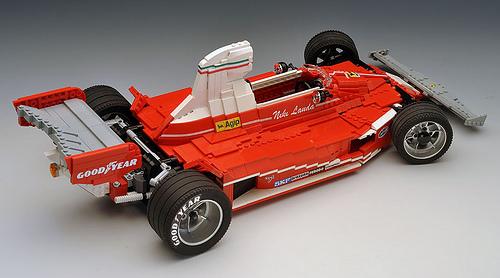 Lego Ferrari 312T RoscoPC