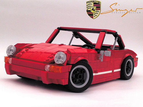 Lego Porsche Singer 911