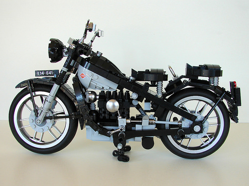 Lego Nimbus Motorcycle