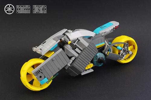 Lego Yamaha Hidenka Motorcycle