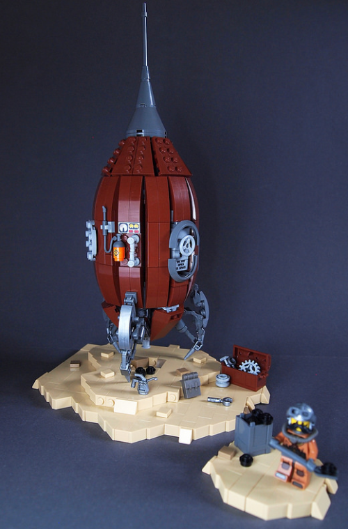 Lego Steam Punk Space Rocket