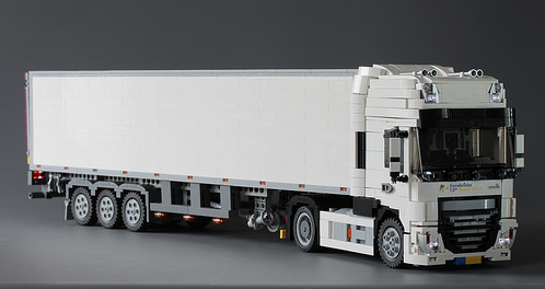 Lego DAF Super Space Cab