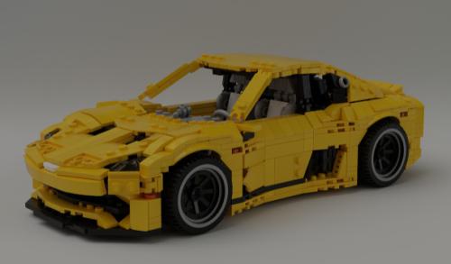 Lego LDD Supercar