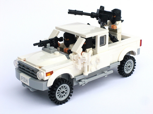 Lego Terrorist Pick-Up