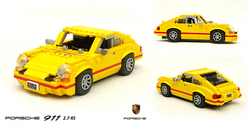 Lego Porsche 911 Carrera 2.7 RS