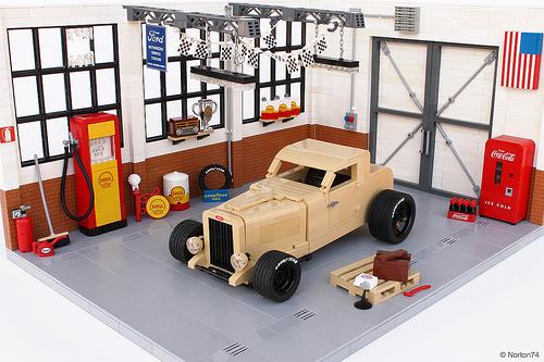 Lego 1932 Ford Deuce Coupe Takehito Yamato