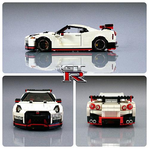 Lego Nissan GT-R Nismo Firas Abu Jaber