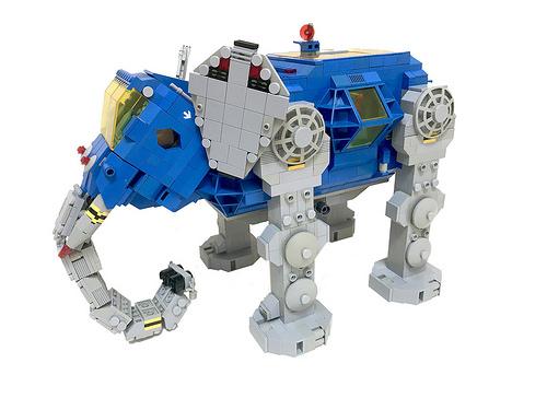 Lego Classic Space Elephant Mech