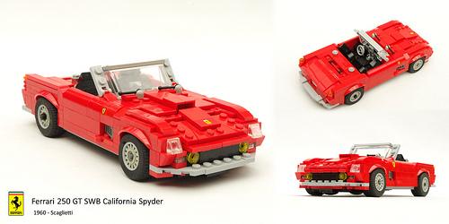 Lego Ferrari 250 GT California