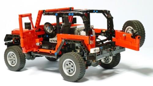 Lego Jeep Wrangler 4x4