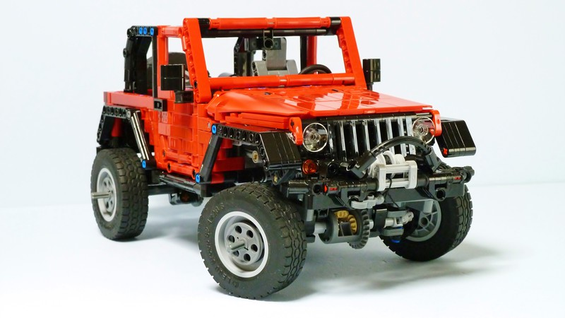 lego technic jeep wrangler the lego car blog. Black Bedroom Furniture Sets. Home Design Ideas