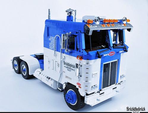Lego Peterbilt 352 110 Cabover