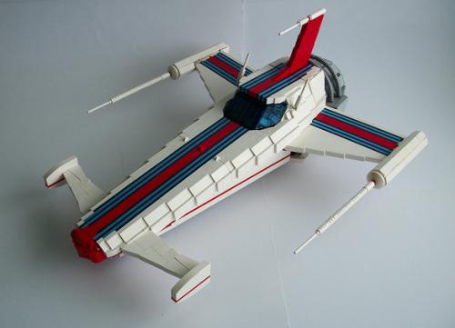 Formula Zero Gravity Lego