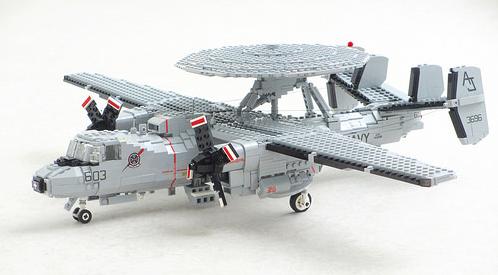 Lego E-2C Hawkeye Aircraft