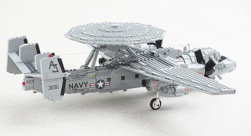Lego E-2C Hawkeye U.S Navy Aircraft