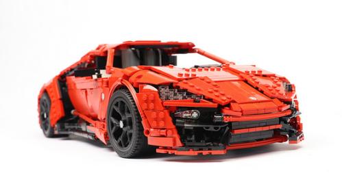 Lego Lykan Hypersport SBrick